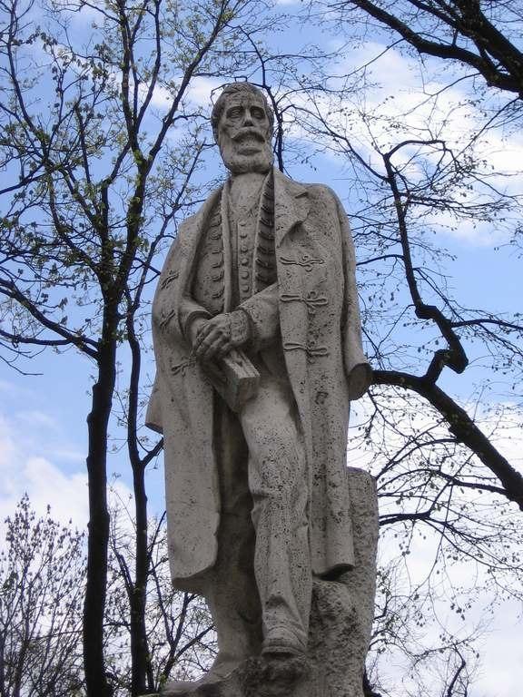 Ludovit Stur monument Levoca