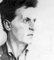 Ludwig Wittgenstein, Pencil on board2.png