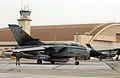 Luftwaffe GR-4 Tornado taxiing for takeoff during Cooperative Cope Thunder 2004.JPEG