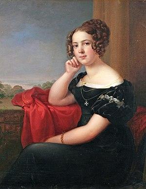 Princess Louise of Anhalt-Dessau (1798–1858) - Image: Luise Friederike von Anhalt Dessau (1798 1858)