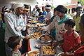 Lunch Distribution - Rawatpura Sarkar Ashram - Chitrakoot - Satna 2014-07-05 6418.JPG