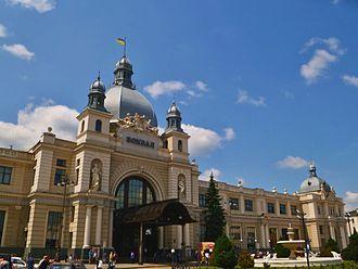 Lviv Railways - Image: Lvivskyi vokzal