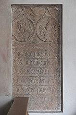 München-Obermenzing Schlosskapelle Blutenburg Grabstein 623.jpg