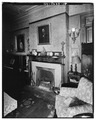 MANTEL, LIVING ROOM - Wilderstein, Morton Road, Rhinebeck, Dutchess County, NY HABS NY,14-RHINB.V,4-24.tif