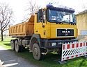 MAN 27.403 dump truck in Munich.JPG