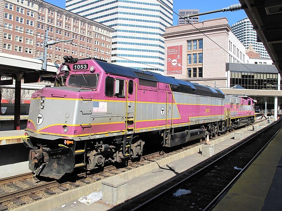 MBTA EMD F40PH
