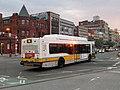 MBTA route 55 bus at Massachusetts Avenue, August 2015.JPG