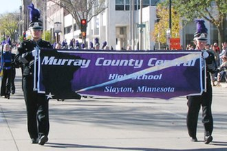Murray County Central School District - MCC Marching Rebels in 2011.