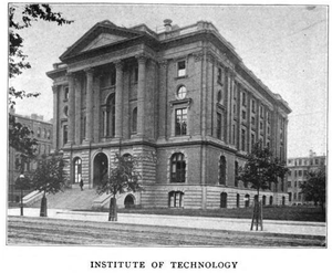 English: MIT building, Boylston St., Boston