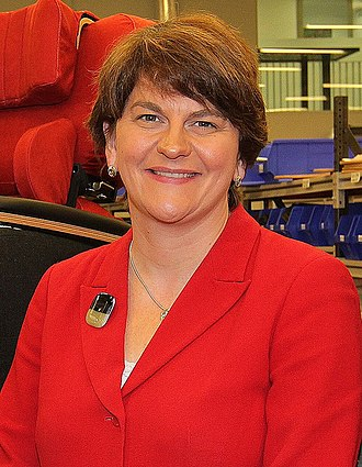 Department for the Economy - Image: MLA Arlene Foster