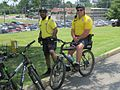 MPD bicycles at Graceland car show 2011.jpg