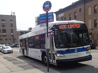 Q69 and Q100 buses Bus routes in Queens, New York