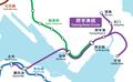 MTR Tseung Kwan O Line Geograpical Map.png