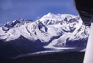 Mount Crillon - Mt. Crillon from  the SW.