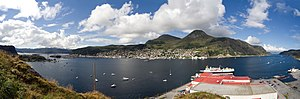 Måløy - Image: Maaloey panorama