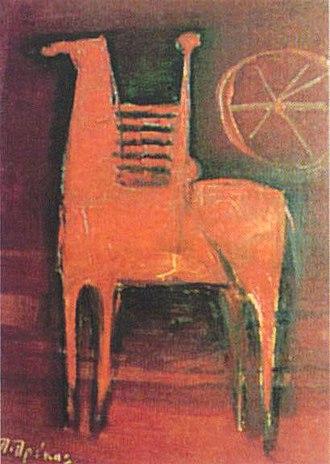 Tehni Macedonian Art Association (Thessaloniki) - Image: Macedonian Museums 66 Etairia Texni 289