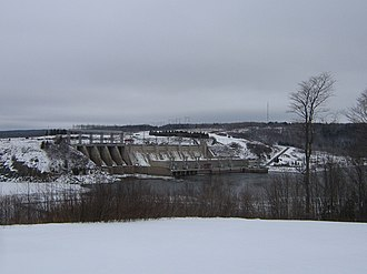 Saint John River (Bay of Fundy) - Image: Mactaquac 1