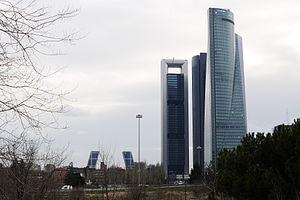 English: Madrid Cuatro Torres Busines Area, se...