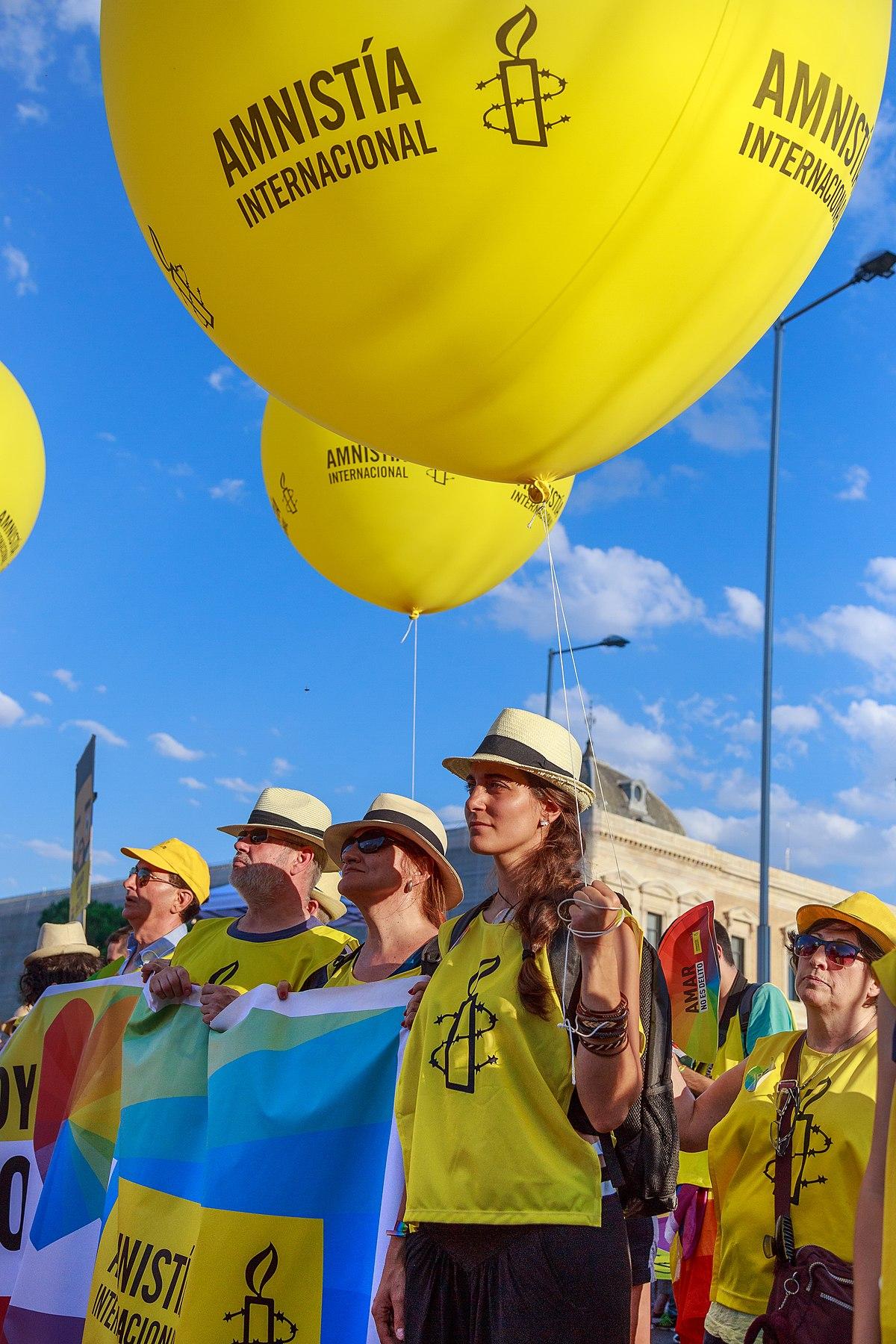 Amnistía Internacional - Wikipedia, la enciclopedia libre