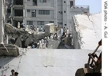 Magnitude 7 6 - PAKISTAN 20051008035038 gul margalla tower1 08oct05 210.jpg