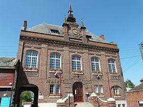 La mairie avant son extension