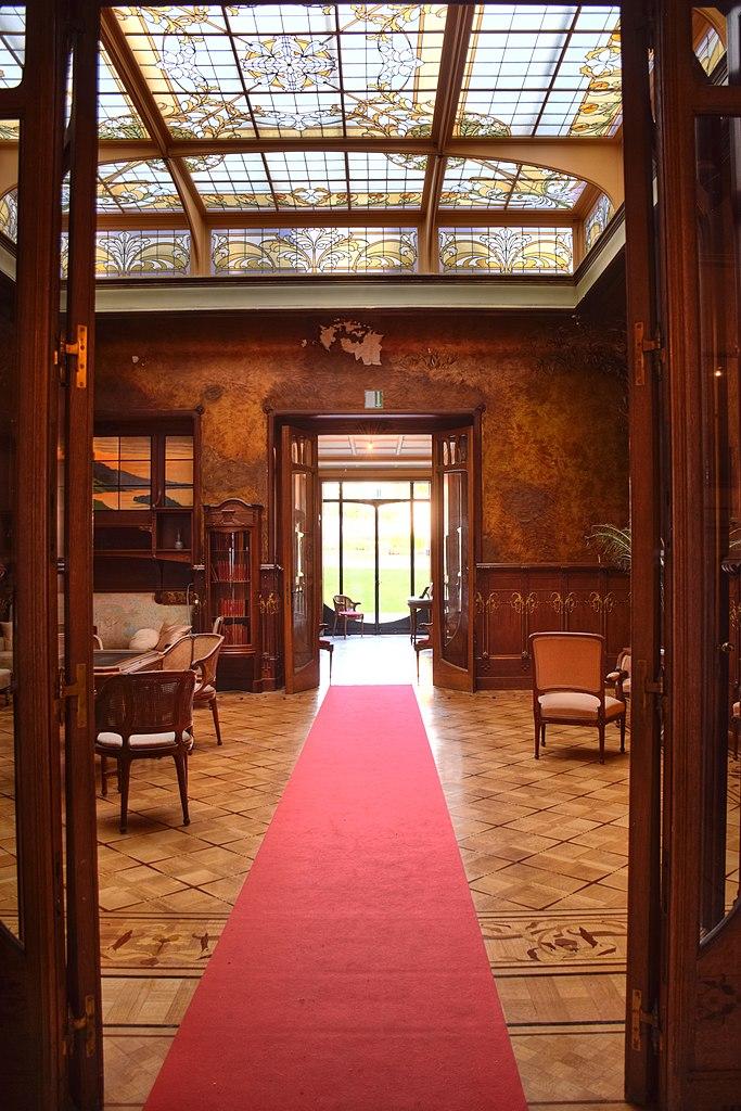 File:Maison Leon Losseau - grand salon - vue depuis le hall ...