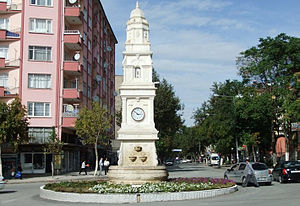 Malatya Saat Kulesi, the clock tower of Malatya