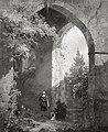 Man bij een ruïne Centraal Museum 11333 a.jpg