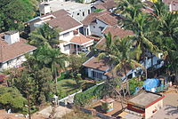 Mangalore still retains its old world charm such as red tile-roofed houses in spite of globalization pervading the city.