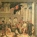 Mantegna, trasporto del corpo di san cristoforo, copia del museo jacquemart-andrè.jpg