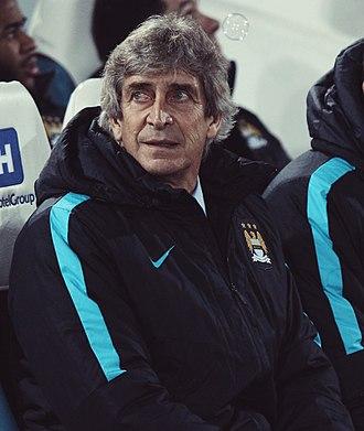 Manuel Pellegrini - Pellegrini in 2016 with Manchester City