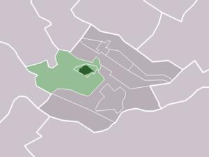 Cothen - Image: Map NL Wijk bij Duurstede Cothen