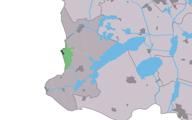 Location of Hindeloopen