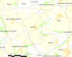 Map commune FR insee code 16210.png