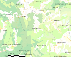 Map commune FR insee code 26190.png