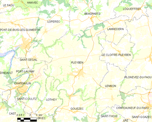 Map commune FR insee code 29162.png