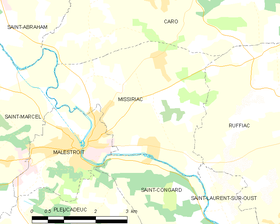 Map commune FR insee code 56133.png