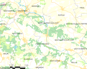 Map commune FR insee code 56211.png