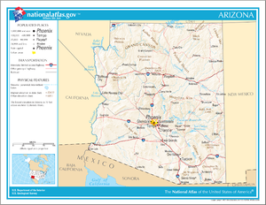 Map Of Arizona Monument Valley.Index Of Arizona Related Articles Wikipedia
