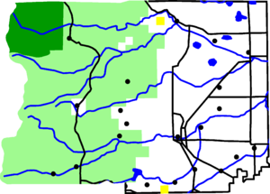 Map of Boulder County, Colorado