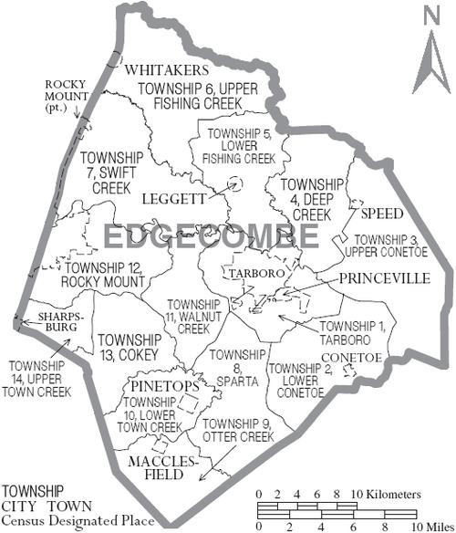 Edgecombe County North Carolina