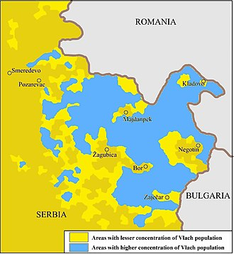 Timočka Krajina - The Vlach community in eastern Serbia.