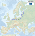Map of the European Long Distance Path E11.png