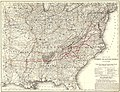 Map of the Richmond & Danville Railroad system in Virginia, North Carolina, South Carolina, Georgia, Tennessee, Alabama, Mississippi, Arkansas, & Texas. LOC 98688788.jpg