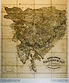 Map of the Slovene lands in the National Museum of Slovenia.jpg