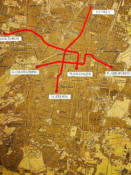 Mexco City Subway Map.Mexico City Metro Wikiwand