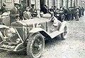 Marcel Lehoux (G) et Maurice Rost (D), vainqueurs des 12 Heures du Grand Prix de Guipuzcoa Tourisme, en 1927 sur Georges Irat 11CV.jpg