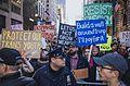 March against Trump, New York City (30833766142).jpg