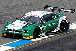 Marco Wittmann 2019 DTM Hockenheim (May) FP1 2.jpg