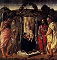 Marco Zoppo Madonna and Child Enthroned with Saints.jpg